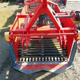 万源市农用拖拉机带动土豆收获机 多功能马铃薯红薯地瓜收获机