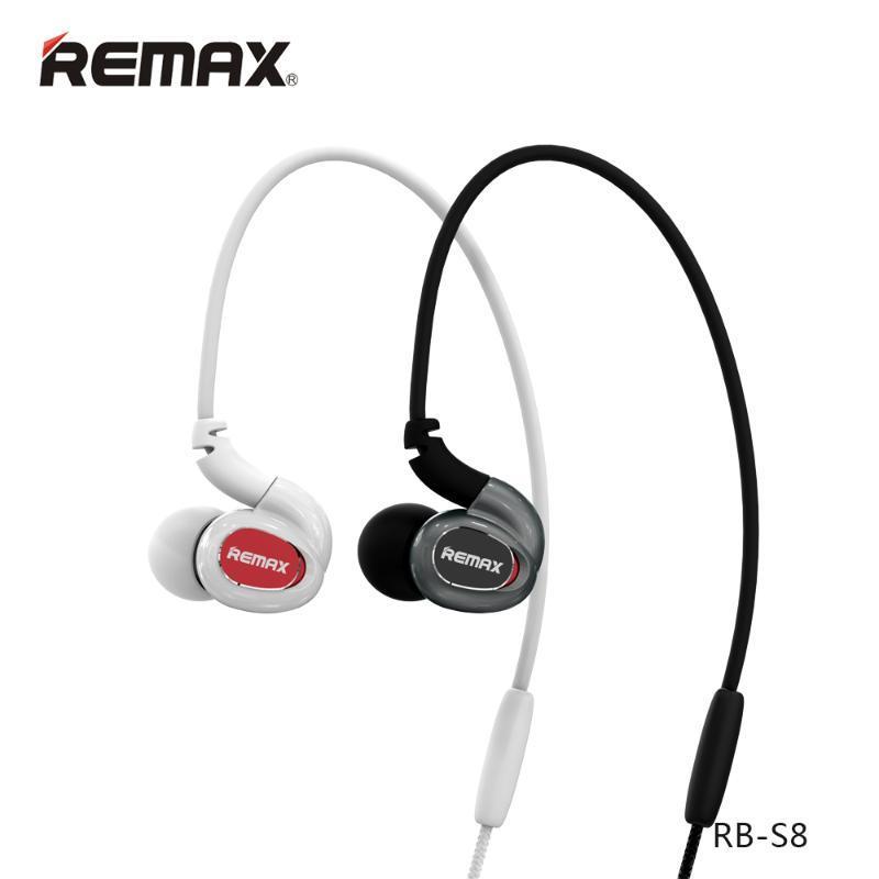Remax/睿量藍牙耳機S8入耳式耳塞運動無線藍牙音樂4.1通用身歷聲