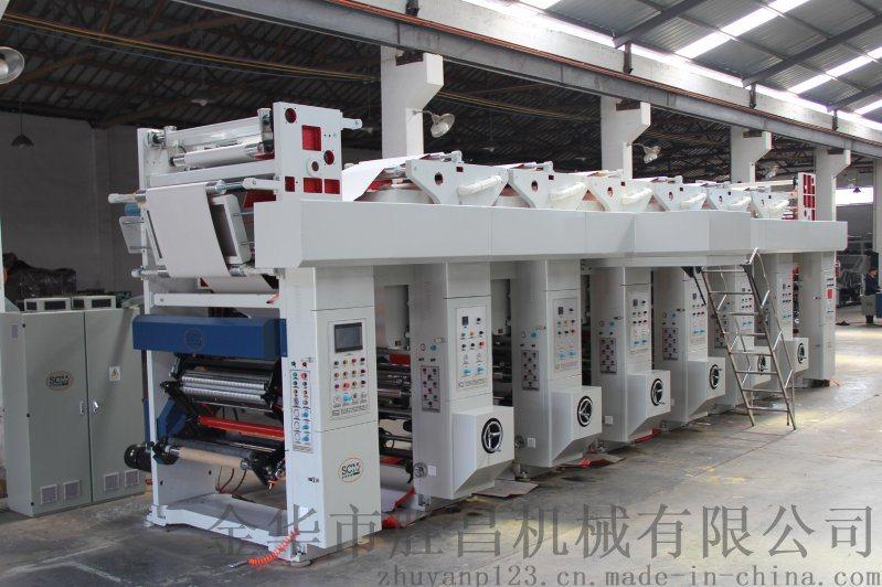 勝昌機械SCM-800型全自動彩色熱轉印膜凹版印刷機
