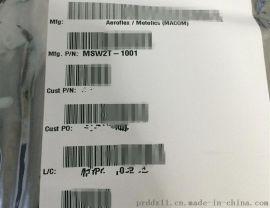 Aeroflex/Macom MSW2T-1001 射频开关 125V 200MA 20W  0.1-6GHZ