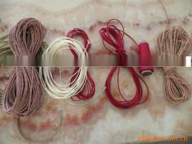 供應中國結用線繩, 鏽花紙絲, 針針鉤紙繩, 針鉤多花紙繩, 裝飾紙繩