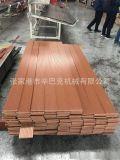 供應PE木塑戶外裝飾牆板生產線 PE木塑型材擠出設備