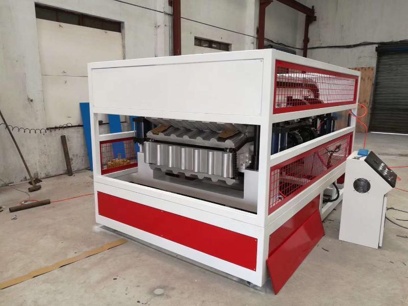 PVC树脂瓦成型机源头厂家
