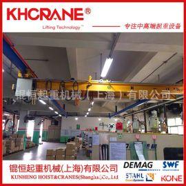 上海生产厂家1吨2吨电动悬挂起重机欧式单梁起重机小型起重机行车