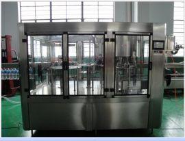 供应全自动果汁饮料机械/纯净水灌装机/三合一灌装机械