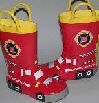 兒童橡膠雨鞋