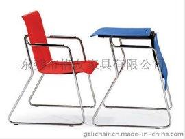 格友家具桌椅两用多功能培训会议椅批发