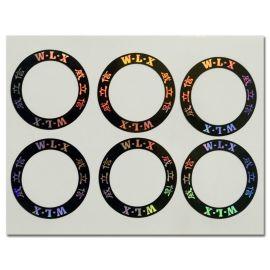 供应印刷防伪不干胶 激光镭射防伪标签 防伪标签定做 服装标签