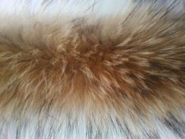 50cm55cm貉子毛领帽领皮草毛领