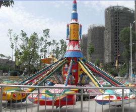 大型儿童室外游乐场设备自控飞机,广场旋转升降飞机游乐设备玩具,