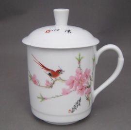 专业定做陶瓷茶杯 批发零售陶瓷杯子价格 景德镇茶杯厂家