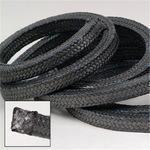 高碳纤维盘根,浸四氟碳纤维盘根