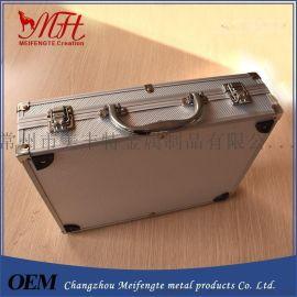 工具箱定做,多功能五金工具箱,31*21*26cm大容量化妆箱ABS料铝箱