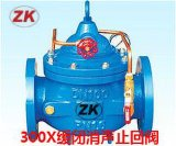 专业生产 300X缓闭式止回阀 水力控制阀 缓闭消声止回阀 单向阀