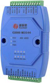 康耐德 C2000 MDS44  开关量采集转485  继电器输出控制