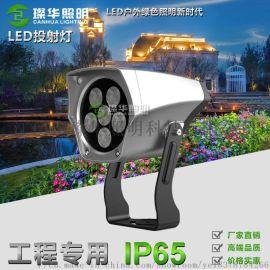 厂家直销6W12W结构防水LED投射灯园林树木绿化