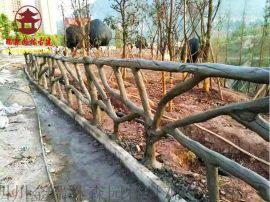 贵阳水泥栏杆厂家,实木仿木纹栏杆定制厂家