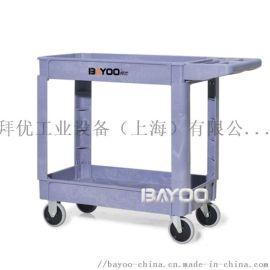 BHY425塑料工具车,塑料工具手推车