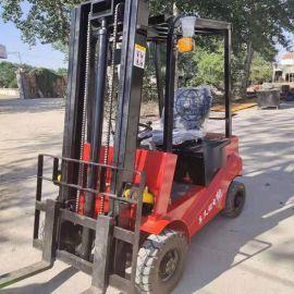锰钢材质全电动叉车,环保四轮座驾堆高车搬运车