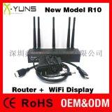 XYUNS R10 5G路由+同屏器HDMI/VGA/  /WLAN接口