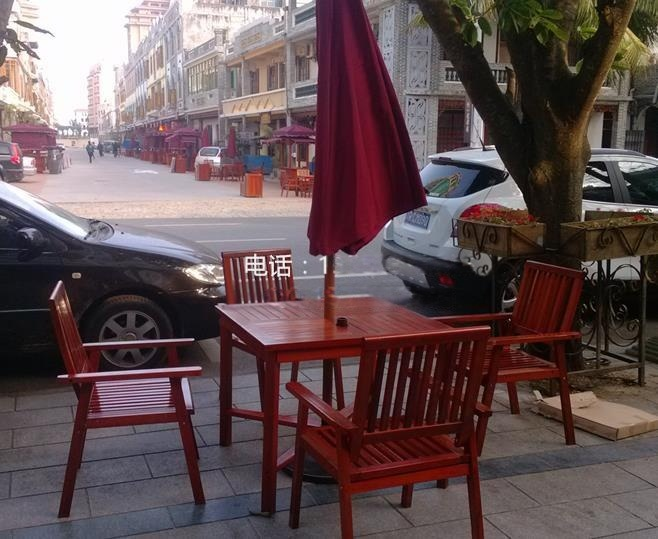 户外木质桌椅 花园实木餐桌椅定做批发
