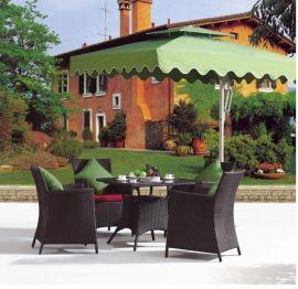 厂家现货供应花园仿藤桌椅 酒店藤椅 茶楼休闲藤椅 一件代发