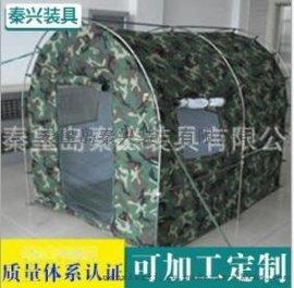 供应迷彩涤纶防水野营户外折叠帐篷 帆布帐篷 可定制