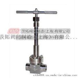 不锈钢焊接DJ61Y-160P低温高压截止阀