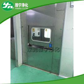 供应空气净化设备全不锈钢自动液压升降门电子互锁传递窗