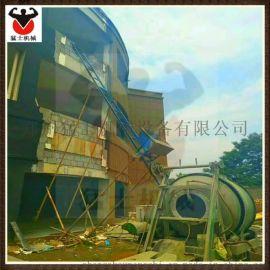 建筑用爬山虎上料机 工程机械爬山虎  斜坡运料机