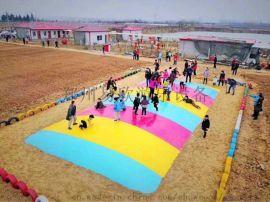 农庄大蹦床生态园地下蹦蹦床pvc闭气大蹦床农场亲子儿童游乐园设施