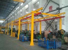 125kg立柱定柱式KBK旋臂吊手动悬臂起重机