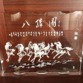 来样加工内雕透明材质 玻璃 亚克力等 激光内雕打标机