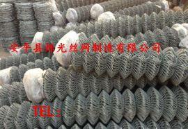 握边热镀锌铁丝网 握边斜放网勾花网 绿化勾花网