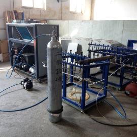 二氧化碳充装机 气态液态CO2灌装设备 快速增压泵