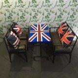 蘇州凱隆廠家定製創意酒吧休閒吧咖啡廳桌椅組合 美式鄉村休閒桌椅