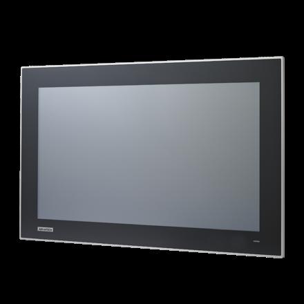 研華21.5寸工業顯示屏FPM-7211W-P3AE支持VGA和dvi介面