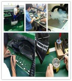 环评移动式焊烟净化器焊接烟尘除尘器直销 博耀工业废气烟雾处理器包邮