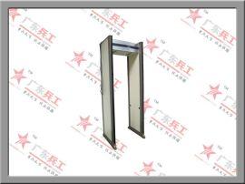 供应广东兵工33区位**室内液晶安检门、高灵敏度金属安检门