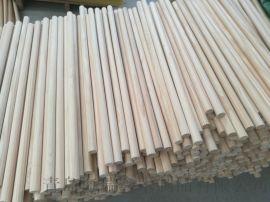 18*750MM松木圆木棒 木棒木棍 护栏