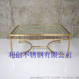 上海不锈钢茶几 KTV发光不锈钢茶几定制厂家