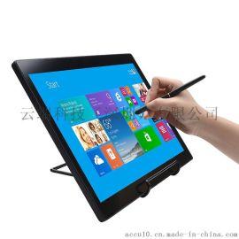 供应拓见ACCU品牌新款高清无源无线真人笔迹书写15.6寸电磁式电脑绘图屏书法屏
