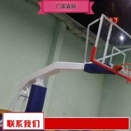 固定篮球架加盟销售 地埋圆管篮球架厂价
