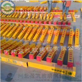 玻璃钢铁路专用警示标志桩@连平玻璃钢警示标志桩厂家