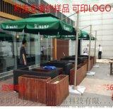 深圳羅馬傘可旋轉傘休閒傘戶外遮陽傘咖啡廳傘