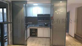 极简窄边钢化玻璃门
