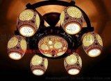 供應景德鎮-尚雲-023陶瓷燈
