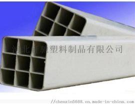 秦皇岛电力管厂家生产白色pvc格栅管规格齐全