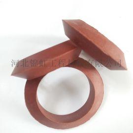 盾构管片螺栓孔防水遇水膨胀橡胶垫圈  管片螺孔圈