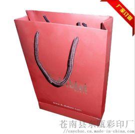 厂家直销精美印刷礼品包装纸袋 定制环保纸质礼品袋珠宝手提袋